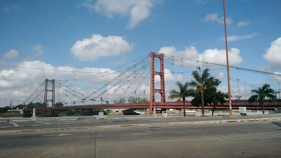 Suspended Bridge: puente colgante santa fe