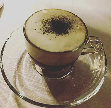 Guido Restaurant: cappuccino di seppia!