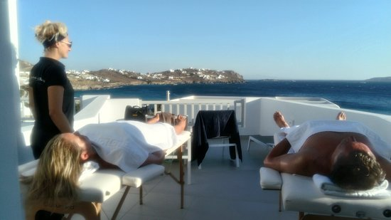 CIEL Mykonos Spa: CL Mykonos Spa Massage