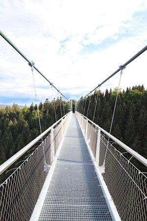 Wildline Abenteuer Fußgänger- hängebrücke der Superlative!
