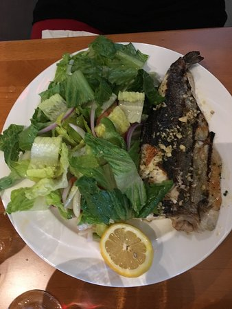 Old House Cosmopolitan: Trout salad