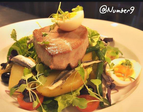 Ponteland, UK: Nicoise Salad