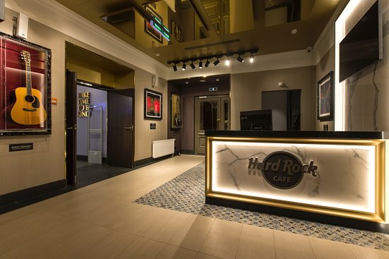 Welcome to Hard Rock Cafe St Petersburg!