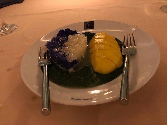 Baan Rim Pa Patong: 芒果椰汁糯米飯