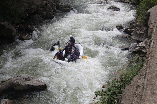 Belvianes et Cavirac, França: rafting triple chute