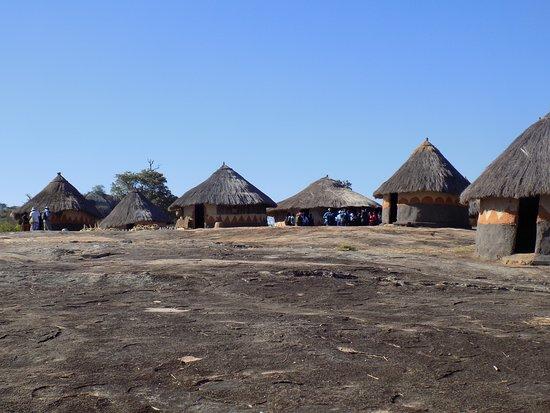 Masvingo, Zimbabwe: Great Zimbabwe: recreated Shona Village