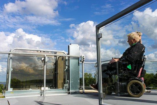 Naturperlen: Lift giver adgang til tagterrasse