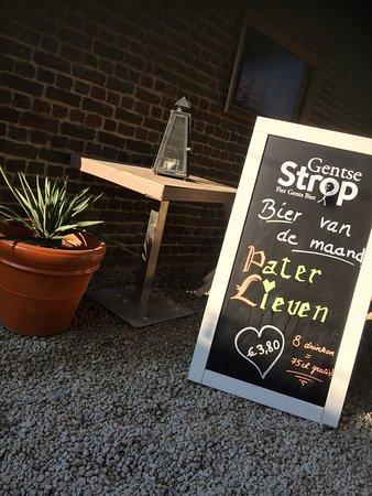 Maarkedal, Belgia: Elke maand een ander biertje in de kijker