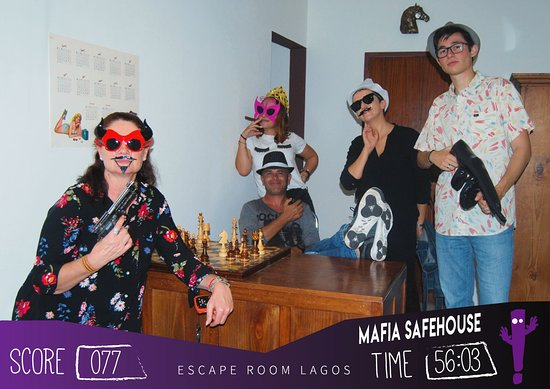 ‪Holy Trap - Escape Room Lagos‬