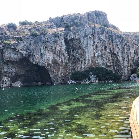 Lake Vouliagmeni照片
