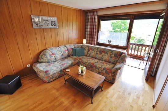 Weissbriach, Austria: Deluxe Appartement met balkon (2-4 Personen)
