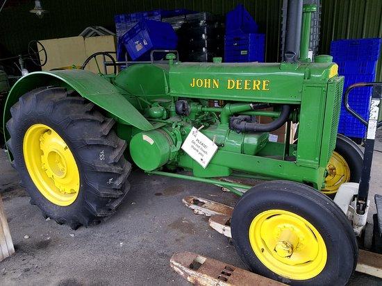 Fly Creek, NY: Plenty of tractors to look at, but not climb on.