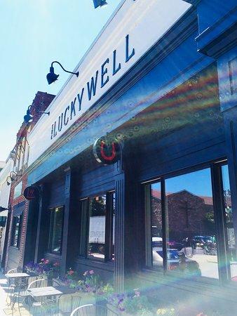 Ambler, PA: Beautiful sunlight on the Lucky Well!