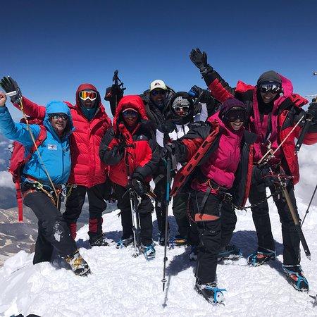Mount Elbrus: Elbrus summit with Elbrus Tours and Misha