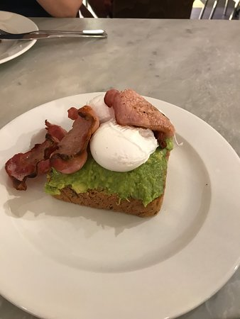 Weetons Food Hall: The PERFECT poached egg.