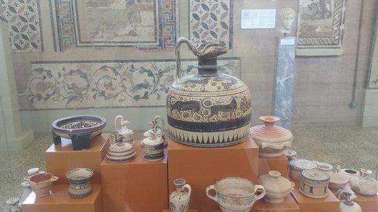 Airotel Achaia Beach : W Muzeum Archeologicznym Koryntu