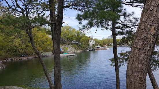 DeWolf Point State Park: View from cabin 14