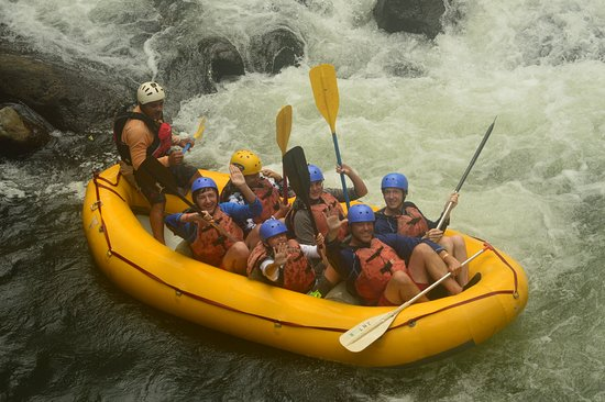 Pacific Trade Winds: white water rafting