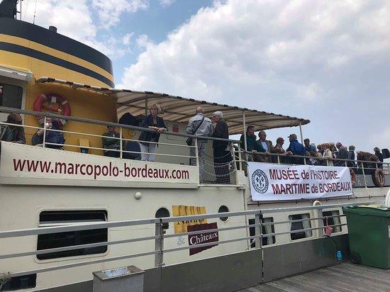 Musée de l'Histoire Maritime de Bordeaux: Croisière dans l'estuaire pour accueillir les grands voiliers de la Tallship Regatta (13/06/2018
