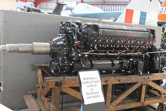 Midland Air Museum: Rolls Royce Griffon 2500 ch/hp