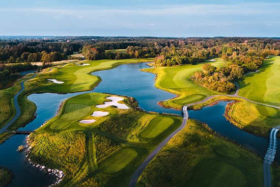 Farum, Danmark: Hole 18 New Course