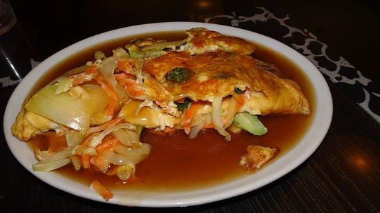 Wok's Up: Omelette