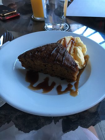 Milton, UK: treacle sponge