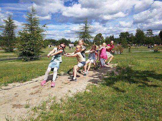 Foldvik Familypark: Tautrekking på Nostalgia