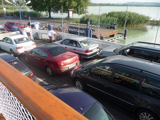 Szantod, Hungria: Выгрузка!!! Приплыли!!!
