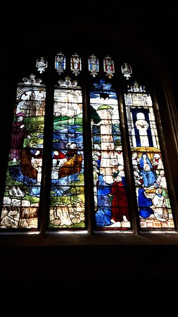 Fairford, UK: Medieval Window
