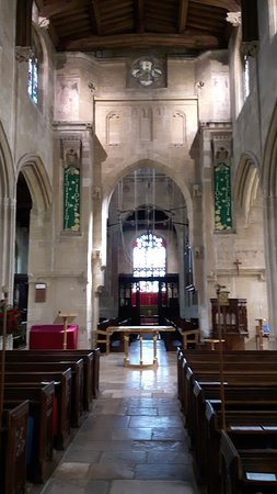 St. Mary's Fairford nave