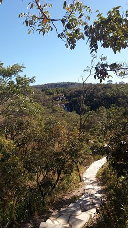 Cachoeira Santa Maria: chegando na cachoeira do Lázaro