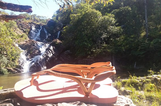 Cachoeira Santa Maria: cachoeira do Lázaro