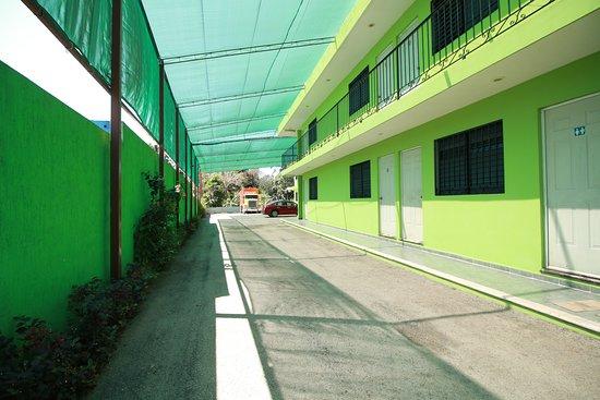 Oxkutzcab, Mexiko: Estacionamiento