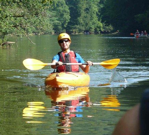Llandogo, UK: Canoeing the Wye