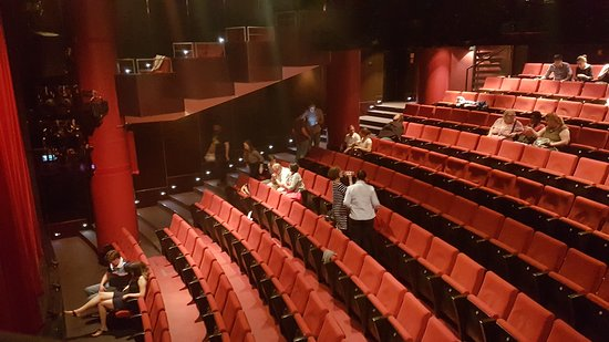 English Theatre: My view from the balcony.
