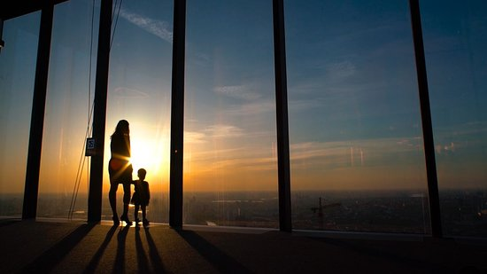 Observation Deck in Moscow-City