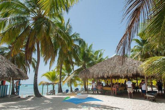 Isla Saona, Dominican Republic: Excursión Canto de la Playa (Playa Delfin) 4 de Julio