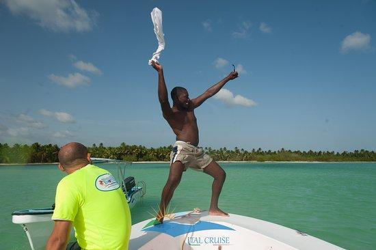 Isla Saona, Dominican Republic: Excursión Canto de la Playa (Piscina Natural) 4 de Julio