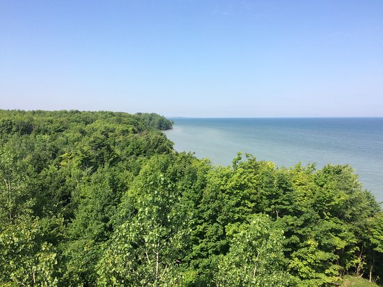 View From the Top - Lake Erie Bluffs Tower, Perry OH
