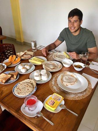 Mihintale, سريلانكا: Breakfast