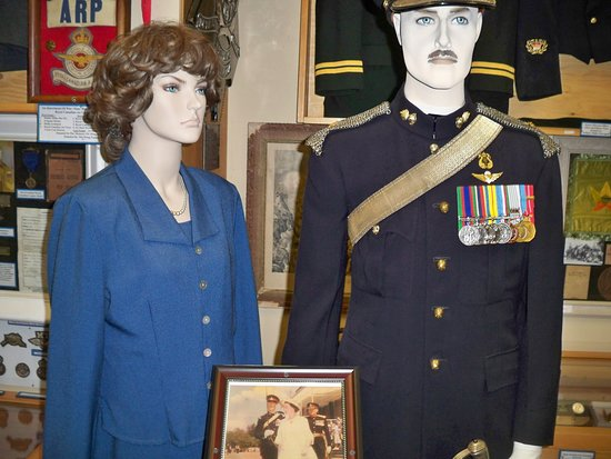 Pictou County Military Museum: Various artifacts.