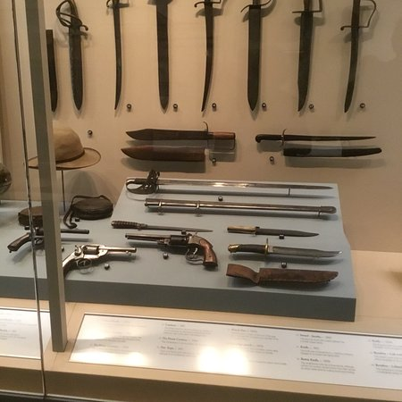 National Civil War Museum: Displays