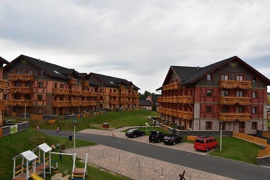 Tatragolf mountain resort: struttura interna