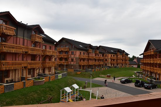 Velka Lomnica, Slovakia: veduta delle strutture