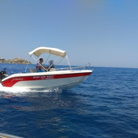 Agia pelagia Crete,Aqua star,rent a boats and water sports