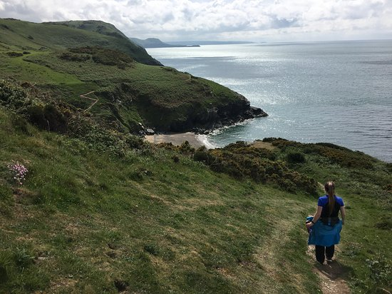 Ceredigion, UK: Between Cwmtydu and New Quay