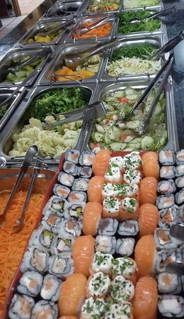 Cruzeiro, SP: comida japonesa