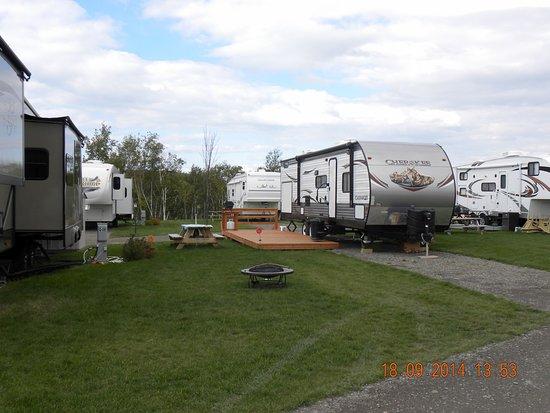 Saint-Mathieu-de-Rioux, Καναδάς: Site 5 services saisonniers