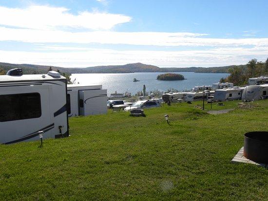 Bas Saint-Laurent KOA Resort: Site plateau du haut (saisonniers et voyageurs)